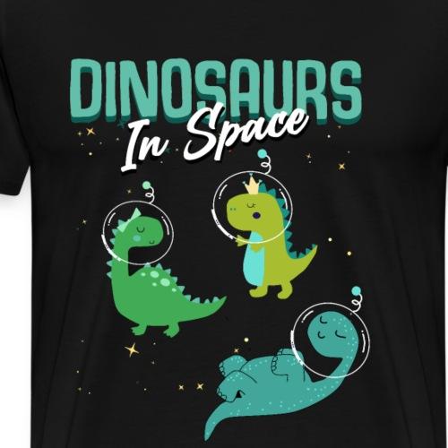 Dino Kinder - Männer Premium T-Shirt