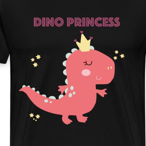 Dino princess - Männer Premium T-Shirt