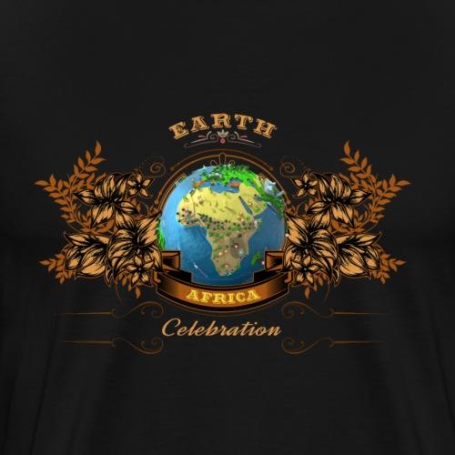 Earth Celebration Shirt - AFRICA - Männer Premium T-Shirt