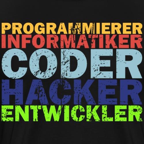 Programmierer T-Shirt - Männer Premium T-Shirt