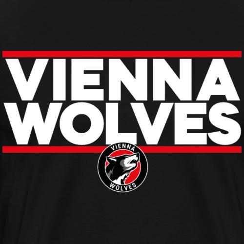 Vienna Wolves Shirt Hell - Männer Premium T-Shirt