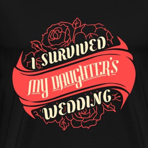Ich Habe Die Hochzeit Überlebt - Männer Premium T-Shirt