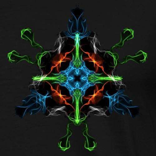 Mystic Pyramid - Männer Premium T-Shirt