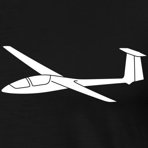 Segelflugzeug Jantar Geschenk Segelflieger gleiten - Männer Premium T-Shirt
