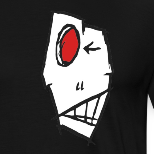 skull red ayyy - Männer Premium T-Shirt