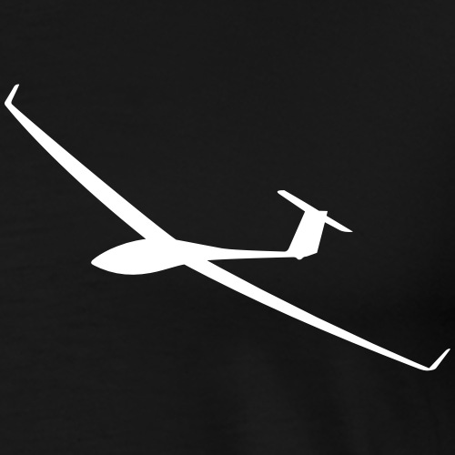 Segelflugzeug gleiten Segelflieger pilot Flugzeug - Männer Premium T-Shirt
