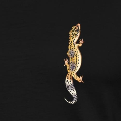 Gecko Léopard #1 - T-shirt Premium Homme