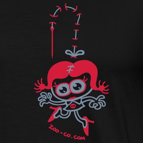 Stitched Woman - Men's Premium T-Shirt