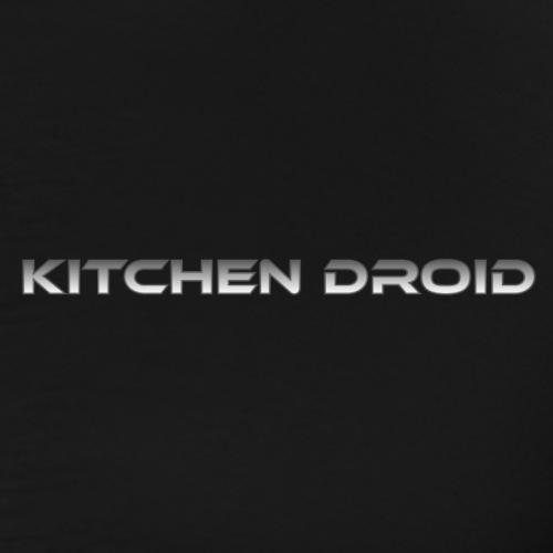 Kitchen Droid - Miesten premium t-paita