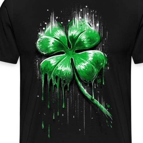 Trèfle à Quatre Feuilles - T-shirt Premium Homme