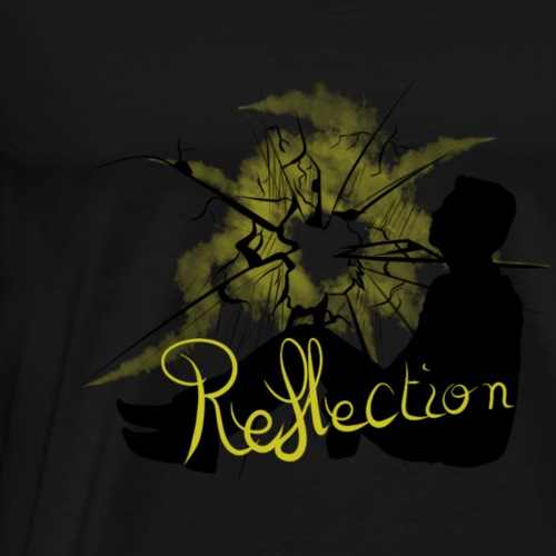 REFLECTION - Rapmonster - T-shirt Premium Homme