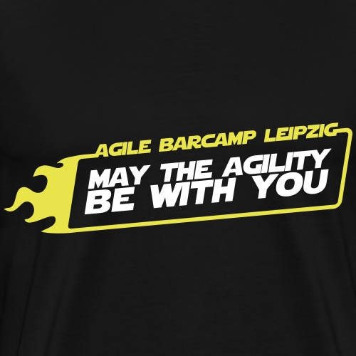 agiLE Leipzig | may the agility be with you - Männer Premium T-Shirt