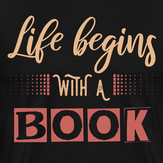 0018 Life begins with a book bookrebels book