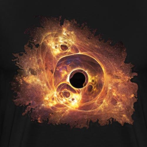 Trou Noir Fractal - T-shirt Premium Homme