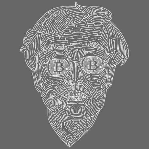 Satoshi Nakamoto -Bitcoin - BTC - Männer Premium T-Shirt