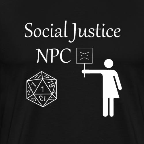 Social Justice NPC - Men's Premium T-Shirt