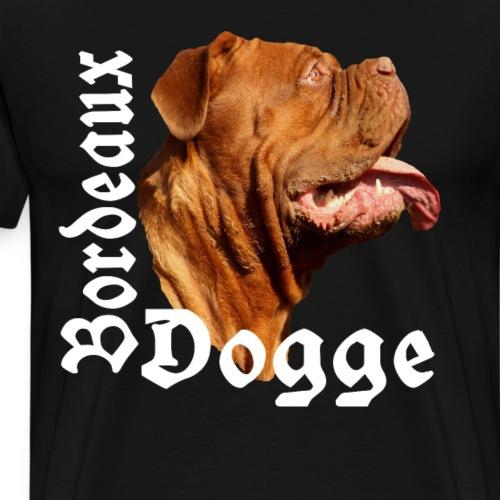 Dogge, Bordeaux Dogge, Kampfhund,Hundekopf,Hunde - Männer Premium T-Shirt