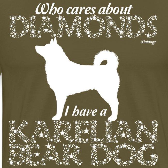 Karelian Bear Dog Diamonds