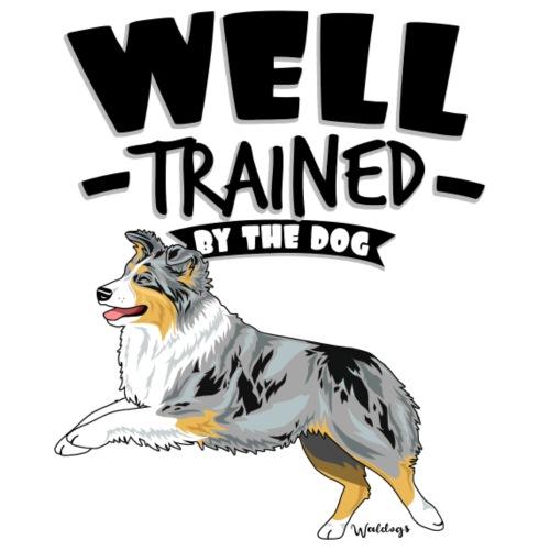Australian Shepherd Well 15 - Miesten premium t-paita