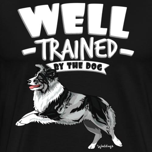 Australian Shepherd Well 11 - Men's Premium T-Shirt