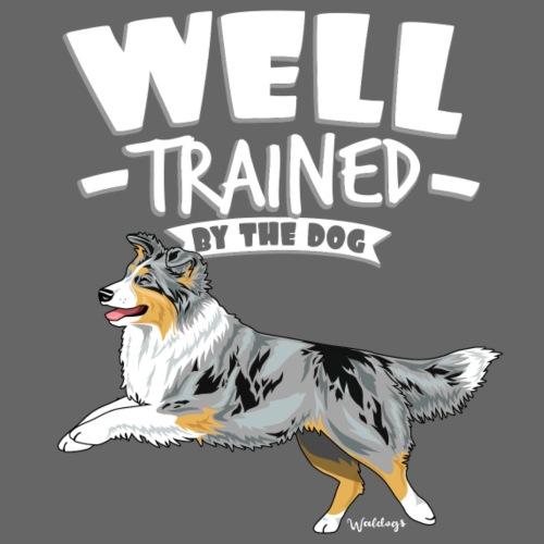 Australian Shepherd Well 3 - Miesten premium t-paita