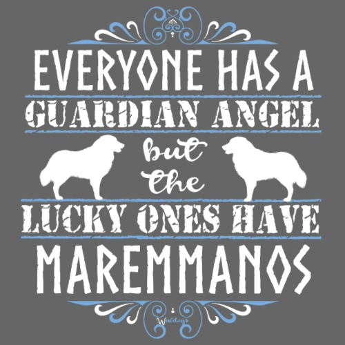 Maremmano Angels - Miesten premium t-paita