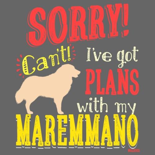Maremmano Plans II - Miesten premium t-paita