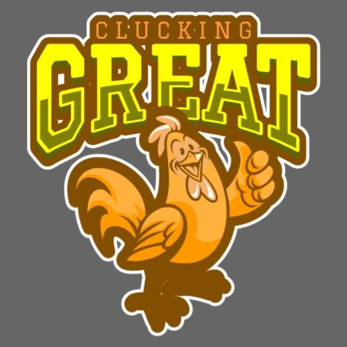 Clucking Great! - Miesten premium t-paita