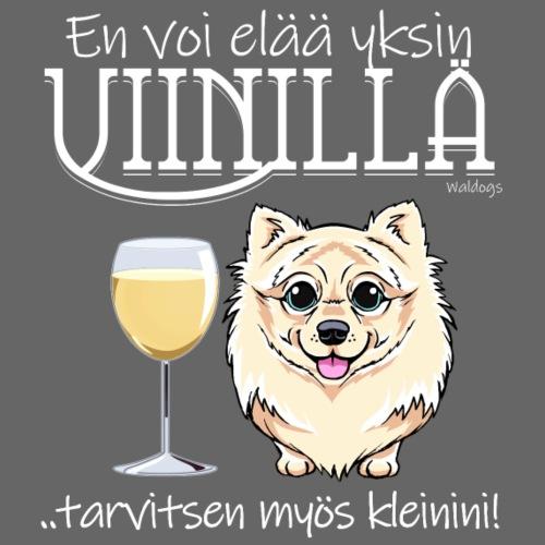 Yksin Viinillä Kleini I - Miesten premium t-paita