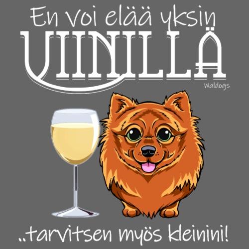 Yksin Viinillä Kleini VII - Miesten premium t-paita