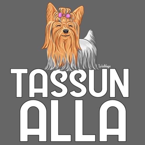 Yorkki Tassun Alla - Miesten premium t-paita