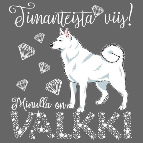 Valkki Dimangi - Miesten premium t-paita