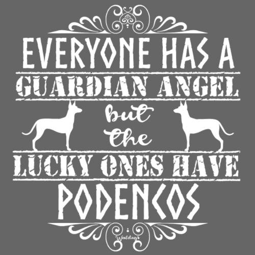 Podenco Angels - Miesten premium t-paita
