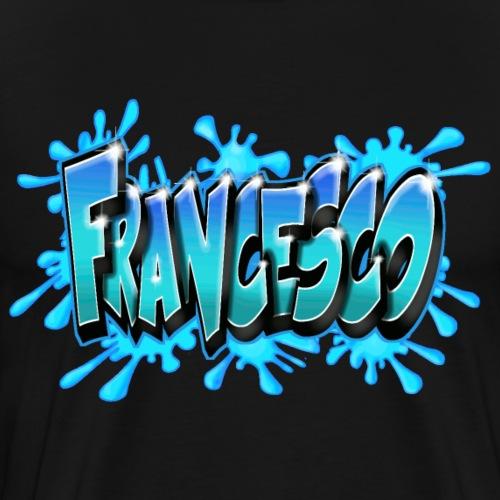FRANCESCO GRAFFITI TAG PRINTABLE BY MAX LE TAGUEUR - T-shirt Premium Homme