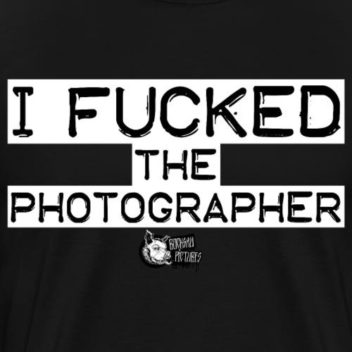 I FUCKED white - Männer Premium T-Shirt