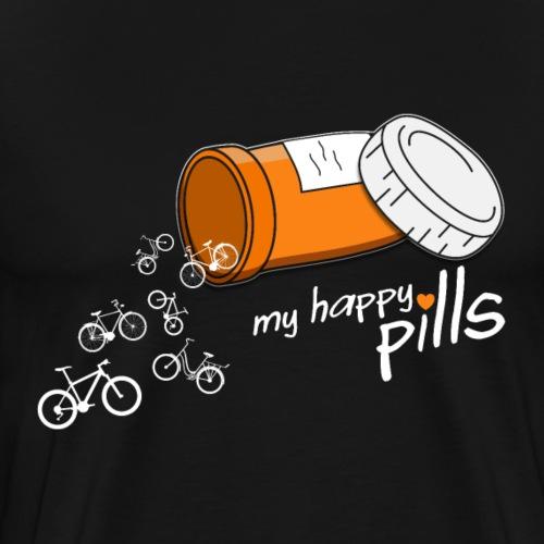 My Happy Pills Bike Design für Hoodies und T Shirt
