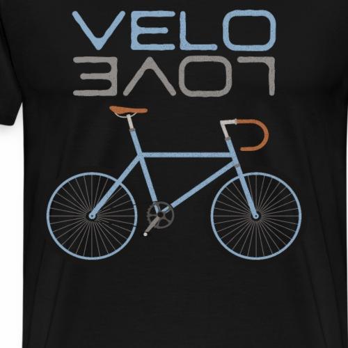 Rennrad Bike Shirt Velo Love Shirt Radfahrer Shirt - Männer Premium T-Shirt