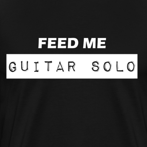 Guitar Solo - Men's Premium T-Shirt