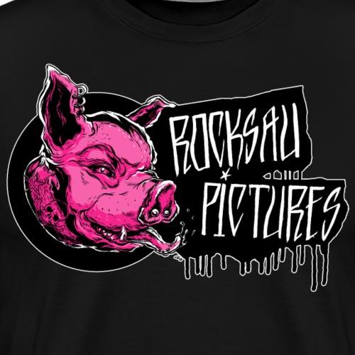 RP LOGO pink - Männer Premium T-Shirt