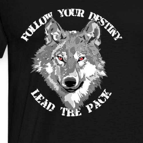follow your destiny - Männer Premium T-Shirt