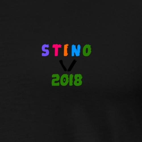 2018 - Mannen Premium T-shirt