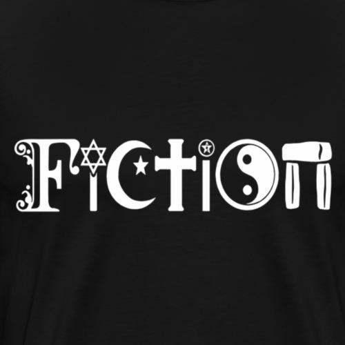 Fiction weiss - Männer Premium T-Shirt