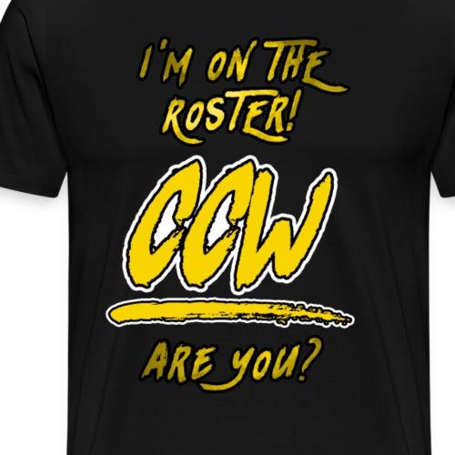CCW Roster - Men's Premium T-Shirt