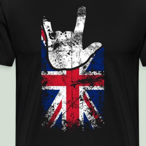 ILY Handsign Großbritannien - Männer Premium T-Shirt