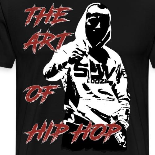 The art of hip hop - Koszulka męska Premium