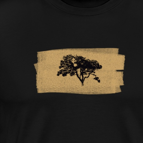 Baum der Ruhe in braun