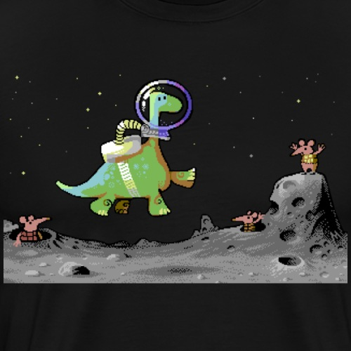 Walking on the Moon 3 - Men's Premium T-Shirt