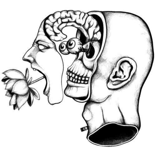 Dividir la cabeza gritando - Camiseta premium hombre