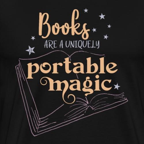 0029 books | Book | Reading | Reader | magic - Men's Premium T-Shirt