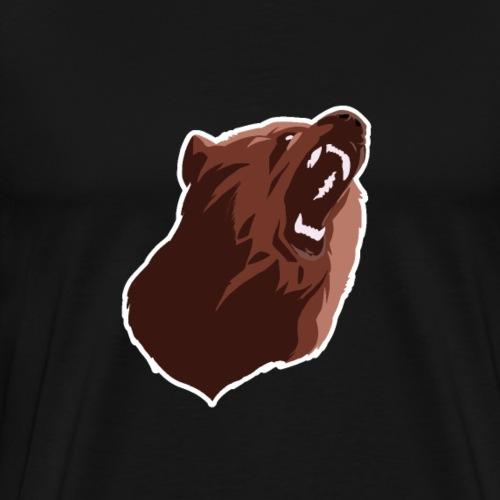 Ours Brun - T-shirt Premium Homme